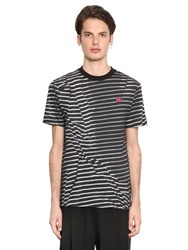 Mcq By Alexander Mcqueen Wrinkled Effect Cotton Jersey T Shirt