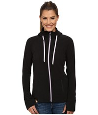 Mountain Hardwear Microchill Full Zip Hoodie Black Women's Sweatshirt