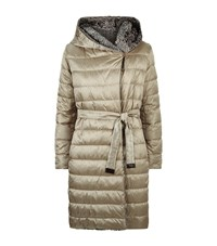 Max Mara Maxmara Noveast Reversible Coat Female Light Grey