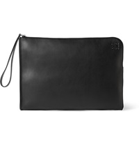 Loewe Leather Portfolio Black