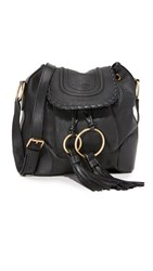 See By Chloe Polly Small Bucket Bag Black
