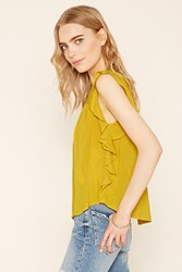 Forever 21 Contemporary Embroidered Top