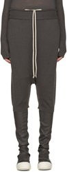Rick Owens Taupe Wool Pods Lounge Pants