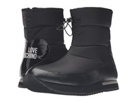 Love Moschino Ankle Snow Boot Black