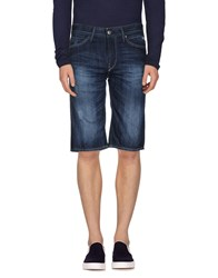 Blend Of America Blend Denim Denim Bermudas Men Blue