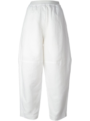 Mm6 By Maison Martin Margiela Wide Leg Trousers White