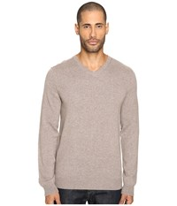 Vince Cashmere Long Sleeve Crew Neck Sweater Heather Maple Men's Sweater Taupe
