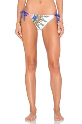 Trina Turk Kasbah Tie Side Hipster Bottom White
