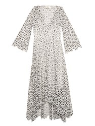 Zimmermann Empire Guipure Lace Dress