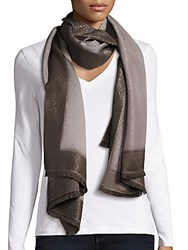 Bajra Cashmere And Silk Scarf Light Grey