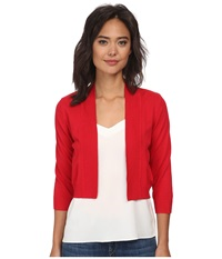 Rsvp Bre Shrug Red Women's Sweater