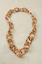 Anthropologie Caro Tortoiseshell Necklace Honey