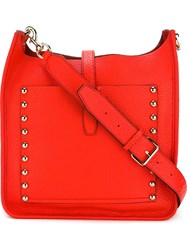 Rebecca Minkoff Studded Messenger Bag Red