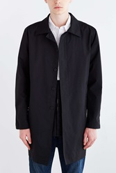 Nylon Trench Coat Black