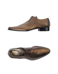 Carlo Pignatelli Cerimonia Lace Up Shoes Bronze