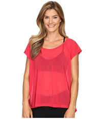 Lole Beth Short Sleeve Top Azalea Women's Short Sleeve Pullover Pink