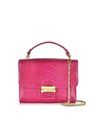 Ghibli Python Mini Shoulder Bag Pink