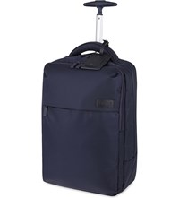 Lipault Plume Business Two Wheel Laptop Backpack 47Cm Navy