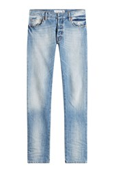 Valentino Rockstud Untitled Straight Leg Jeans Blue