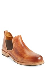 Bed Stu Men's 'Royce' Chelsea Boot Cognac Leather