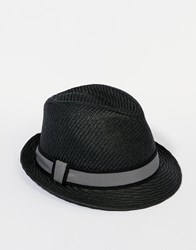 Goorin Bros. Goorin Killian Straw Fedora Hat Black