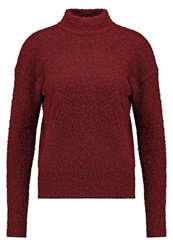 New Look Betty Boucle Jumper Dark Red