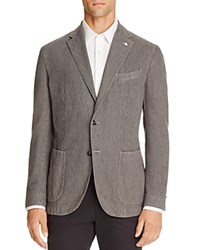 L.B.M Twill Regular Fit Sport Coat Taupe