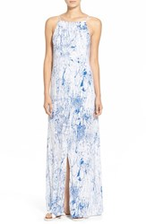 Women's Betro Simone Print Slit Front Maxi Dress
