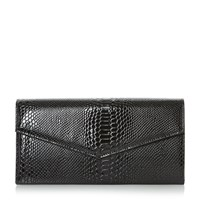 Linea Berlay Foldover Clutch Bag Black