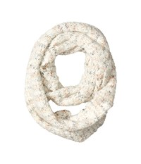 Echo Boucle Loop White Scarves