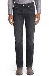 Men's Canali Regular Fit Jeans Charcoal