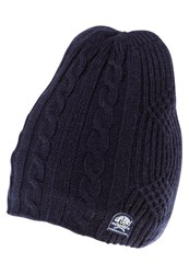 Superdry Misty Cable Hat Ink Marl Dark Grey