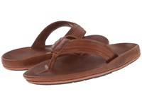 Frye Brent Sandal Cognac Antique Pull Up Oiled Vintage Men's Sandals Brown