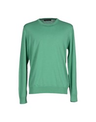 Andrea Morando Knitwear Jumpers Men Green