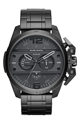 Diesel 'Ironside' Chronograph Watch 48Mm Black