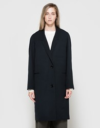 Christophe Lemaire Suit Coat In Midnight Blue