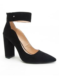 Qupid Signal Pointed Court Black