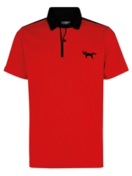 Wolsey Welded Regular Fit Polo Shirt Red