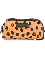 Marc By Marc Jacobs Printed Make Up Bag Black
