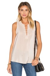 Amanda Uprichard Michaela Tank Blush