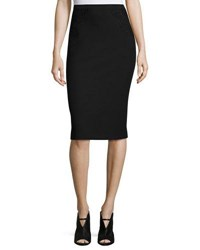 Elie Tahari Harla Lace Combo Pencil Skirt Black
