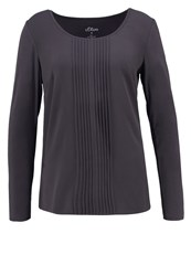 S.Oliver Long Sleeved Top Mystic Grey