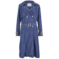 Gestuz Women's Kendall Coat Denim Blue