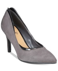 Impo Trillian Pointed Toe Pumps Women's Shoes Steel Grey