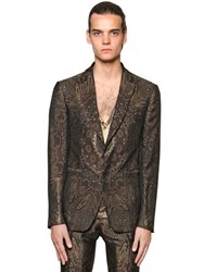 Etro Paisley Viscose And Silk Jacquard Jacket
