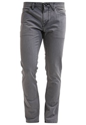 Volcom Vorta Slim Fit Jeans Slate Grey Grey Denim