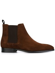 Paul Smith Ps By 'Gerald' Ankle Boots Brown