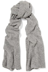 Autumn Cashmere Scarf Gray