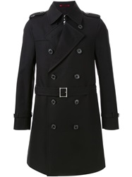 Loveless Classic Trench Coat Black