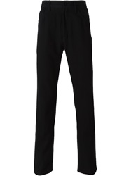 Ann Demeulemeester Five Pocket Design Trousers Black